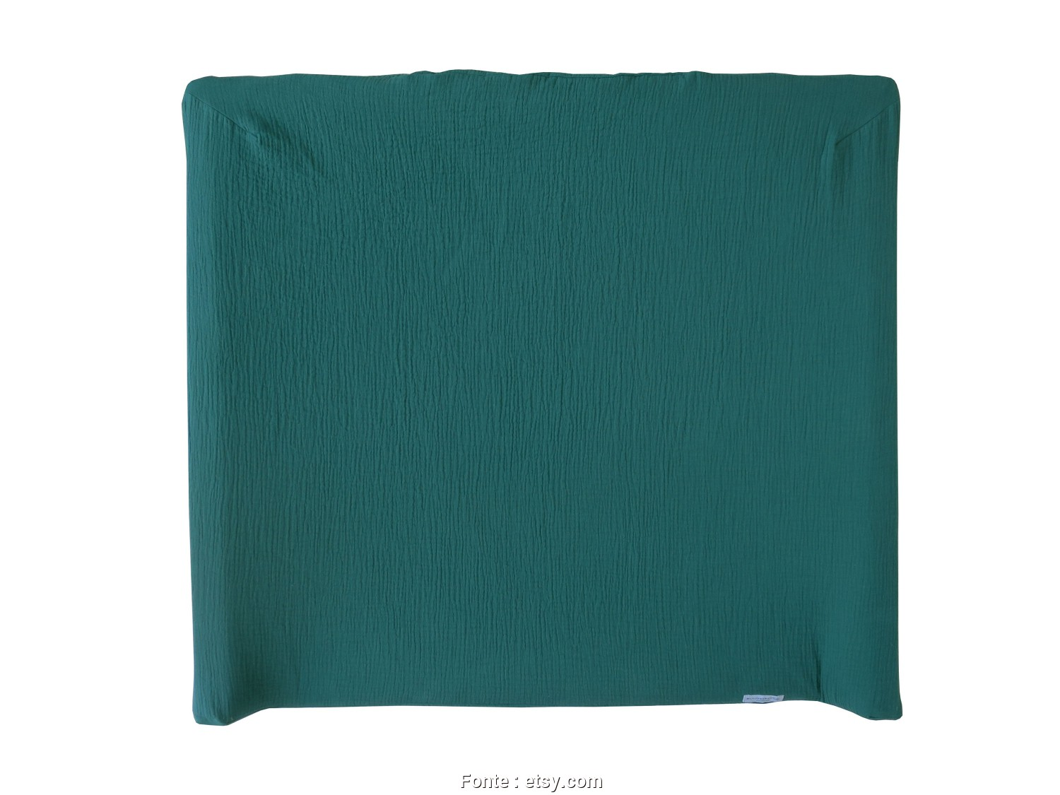 Ikea.Com Stoffe, Loveable Muslin Cover In Dark Green, Changing, / Changing, Vädra 74X80 Cm By IKEA, Handmade In Germany, OEKO-TEX® Standard 100