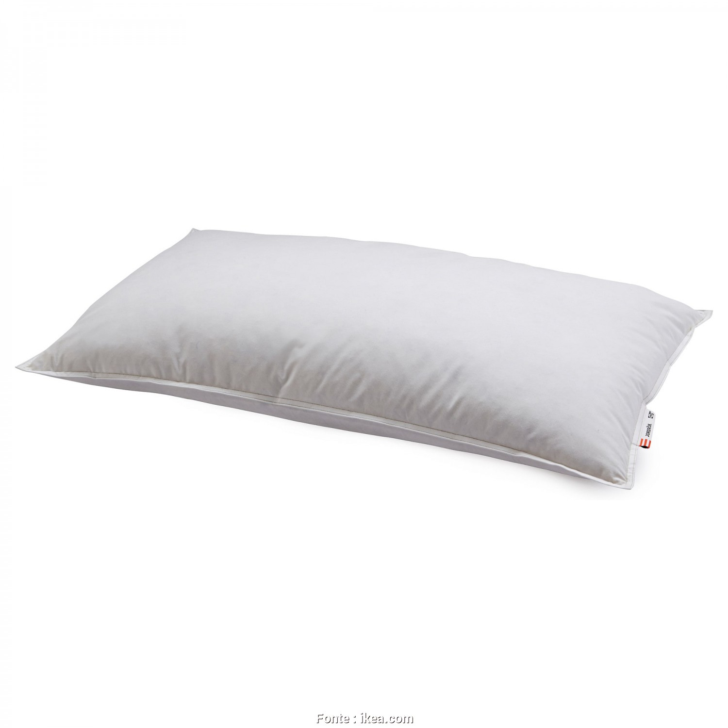 Ikea Cuscino Knavel, Minimalista IKEA JORDRÖK Pillow, Firmer A Firm Pillow In Soft Cotton, Filled With Duck Down