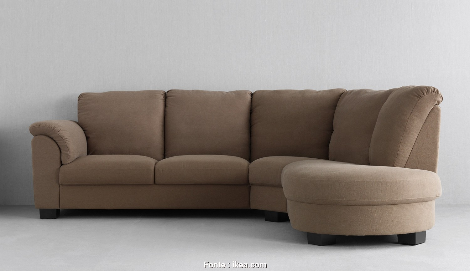 Ikea Divano Memory, Migliore Generous, Comfortable TIDAFORS Seating With Medium Brown Covers