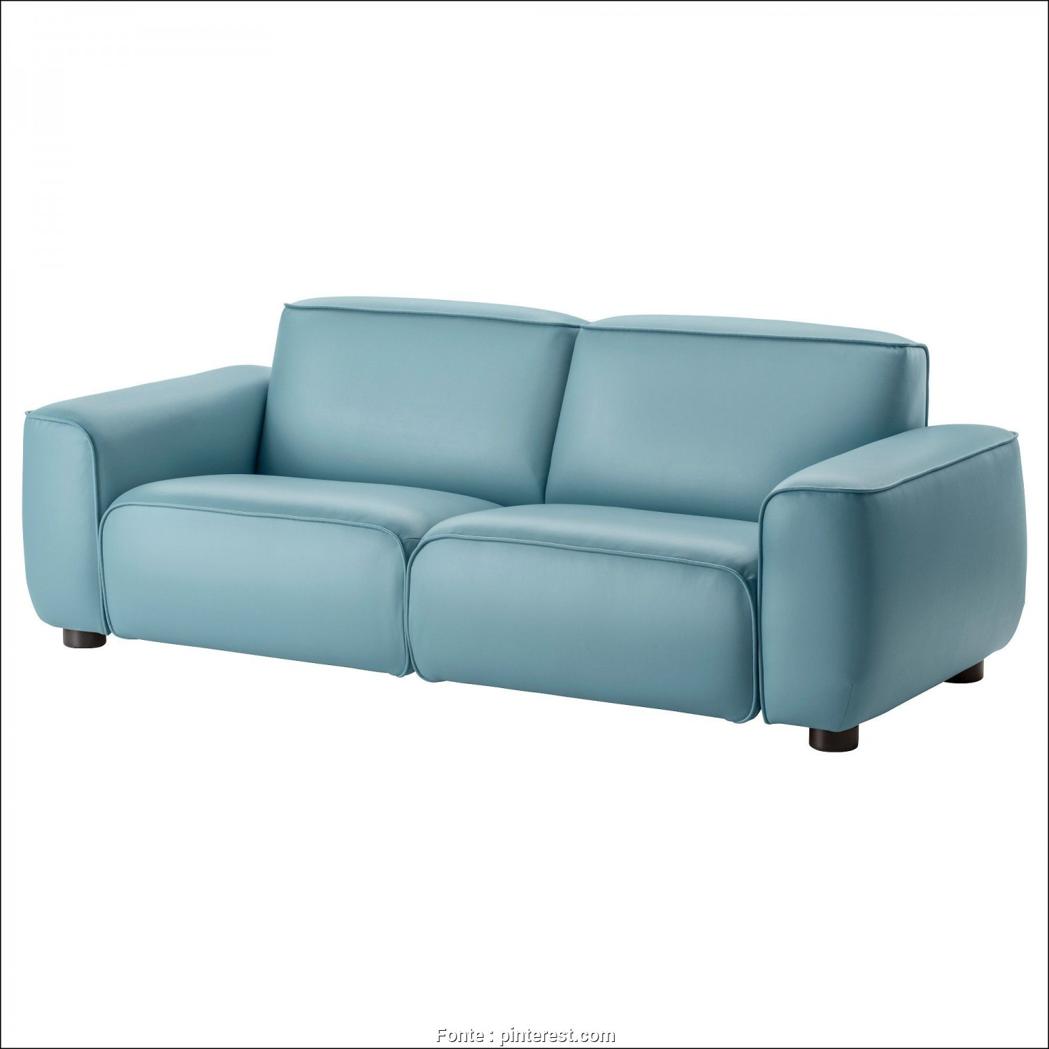 Ikea Divano Vintage, Bellissimo Blue Leather Sofa Ikea, Sofa, Pinterest, Sofa, Blue Leather