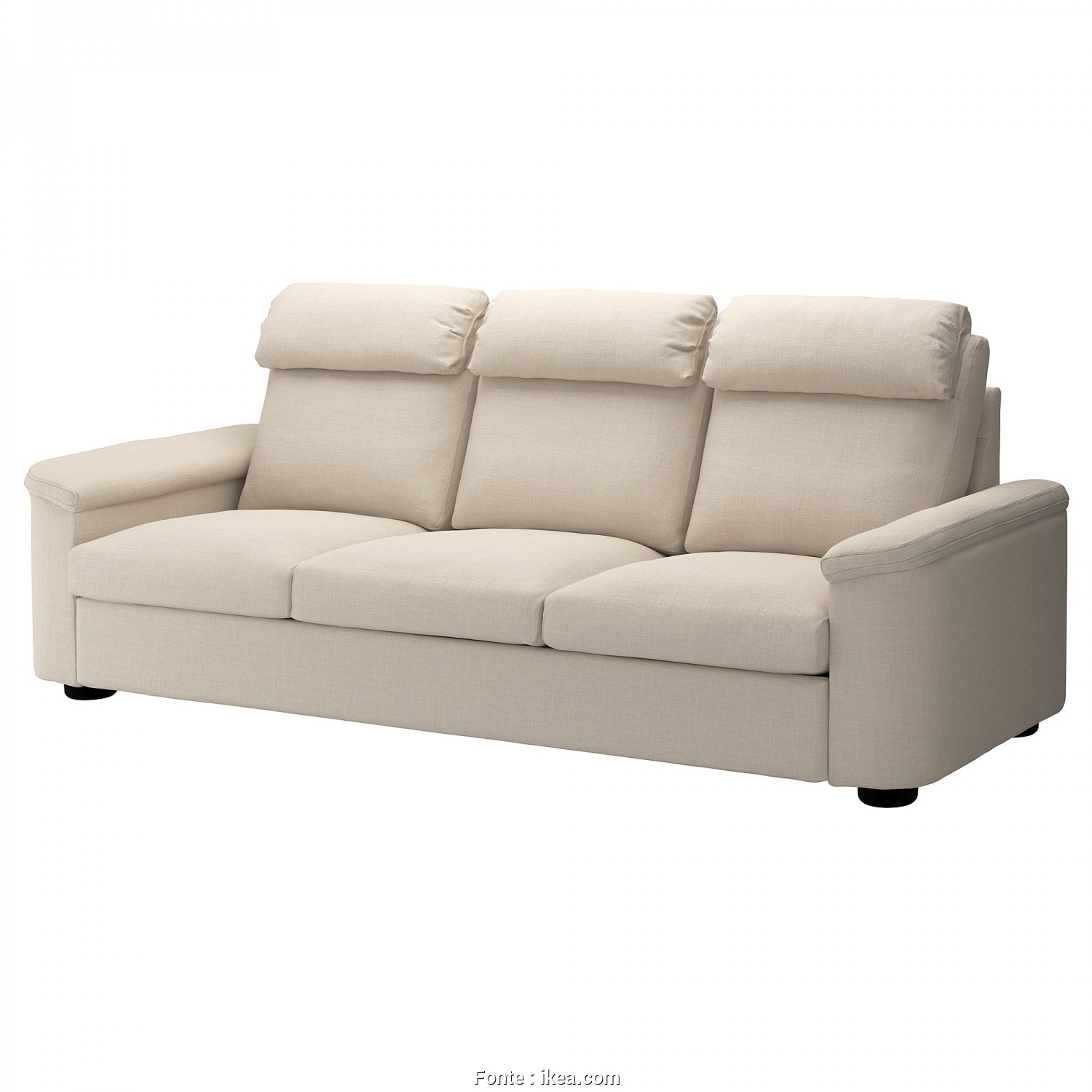 Ikea Klippan 3 Seater Sofa Dimensions, Incredibile IKEA LIDHULT 3-Seat Sofa, Cover Is Easy To Keep Clean Since It Is