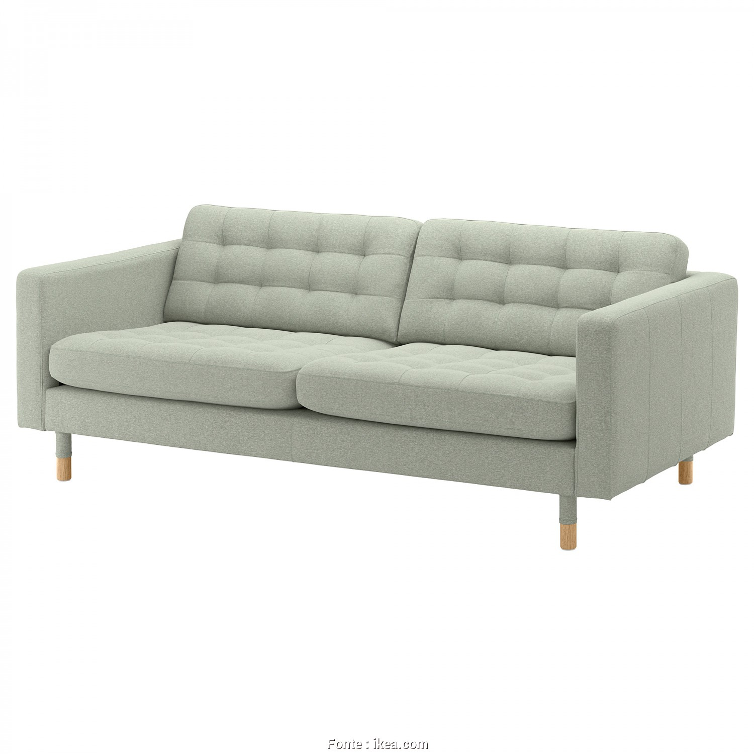 Ikea Klippan 3-Sits, Affascinante IKEA LANDSKRONA 3-Seat Sofa Removable Armrests Make It Easy To, On A Chaise