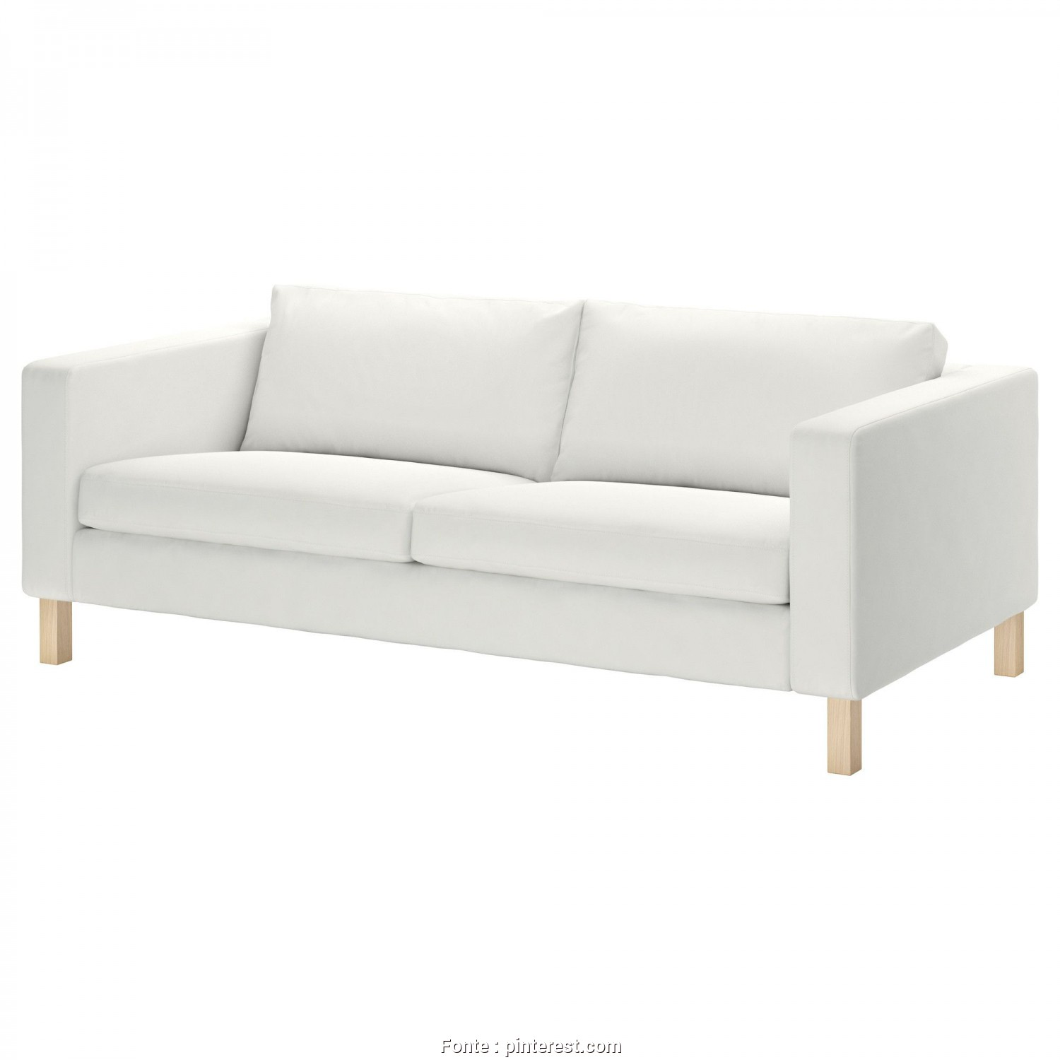 Ikea Klippan Bank Leer, Casuale IKEA: KARLSTAD Sofa, Blekinge White, $399, This Would Work, Our Living Room. I Would Want To, The Cover (Red, Aqua Or Royal Blue) & Possibly