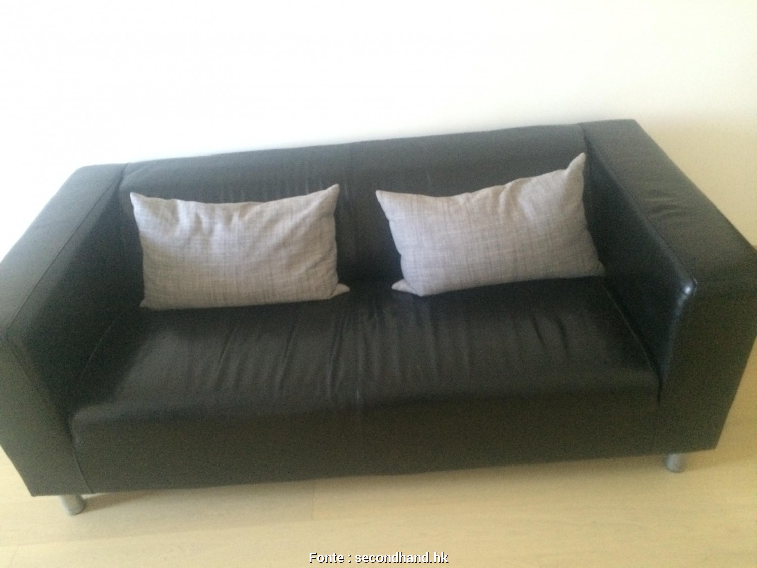 Ikea Klippan Sofa, Sale, Esotico Leather Sofa, Sale. Good As, ( Ikea/Klippan), Mercado.Mx