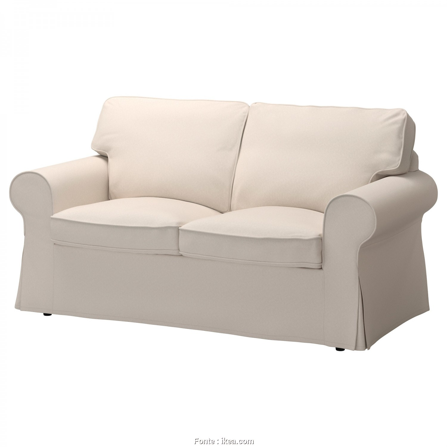 Ikea Soffa Asarum, Elegante IKEA EKTORP Two-Seat Sofa 10 Year Guarantee. Read About, Terms In The