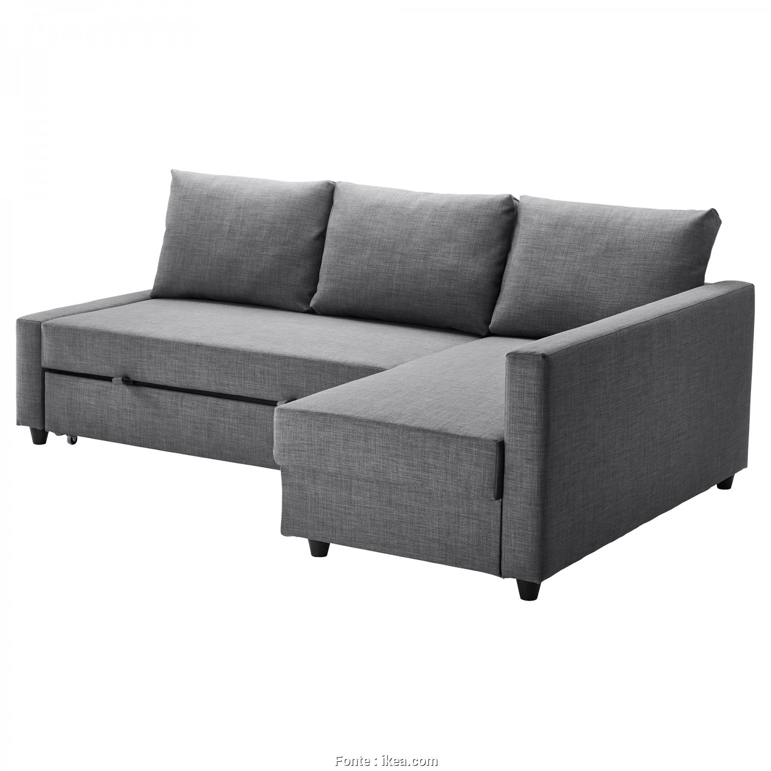 Ikea Soffa Asarum, Superiore IKEA FRIHETEN Corner Sofa-Bed With Storage Sofa, Chaise Longue, Double, In