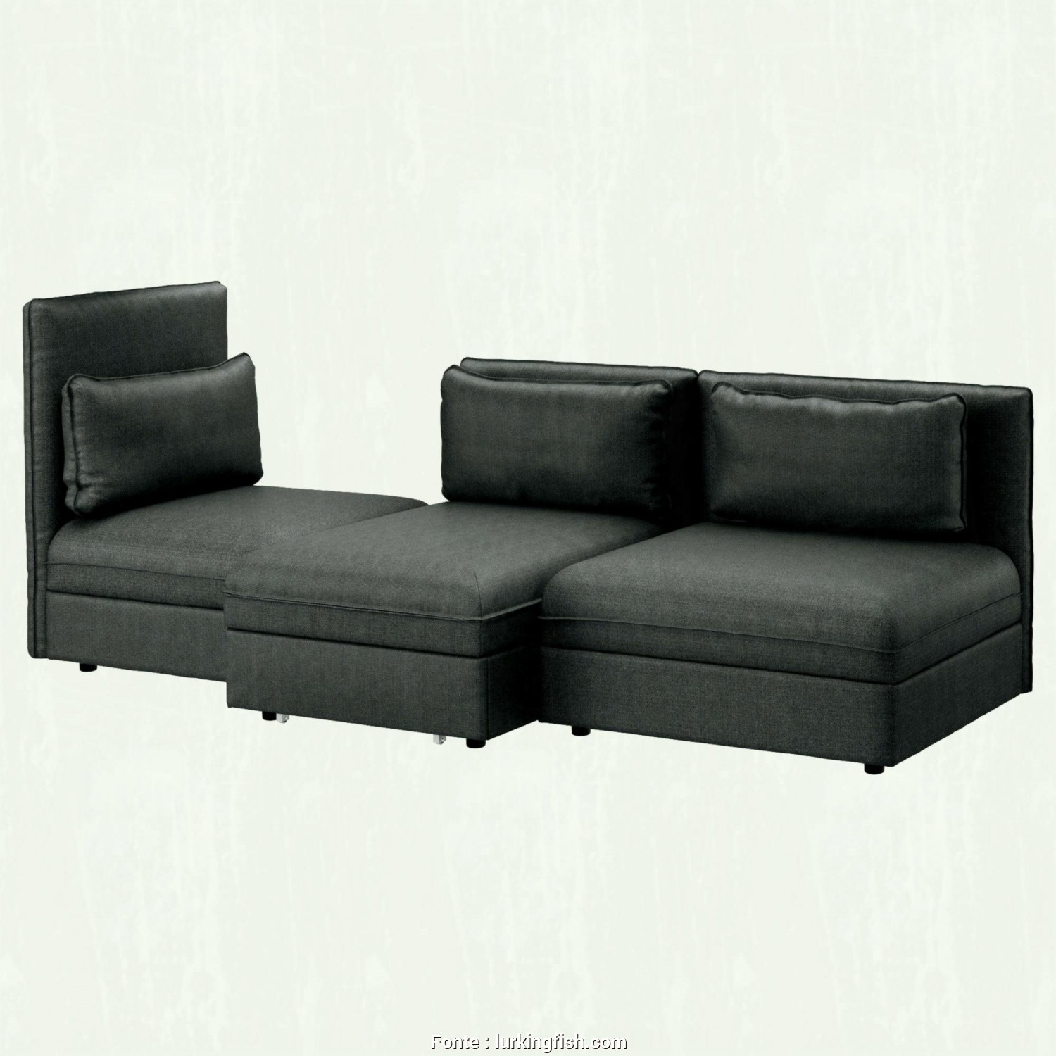 Ikea Vilasund 2 Seat Sofa, Review, Favoloso Ikea Vallentuna Seat Sofa With, Beds Futons Hillared Dark Greypes