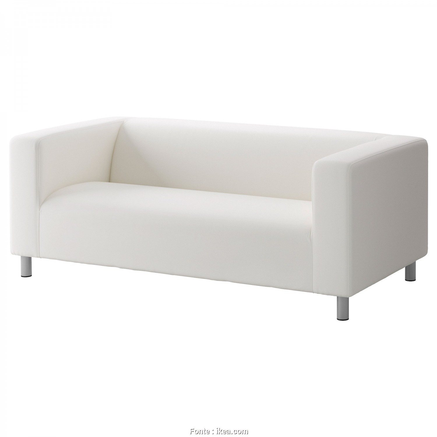 Klippan Ikea 4 Places, Casuale IKEA KLIPPAN 2-Seat Sofa, Cover Is Easy To Keep Clean Since It Is