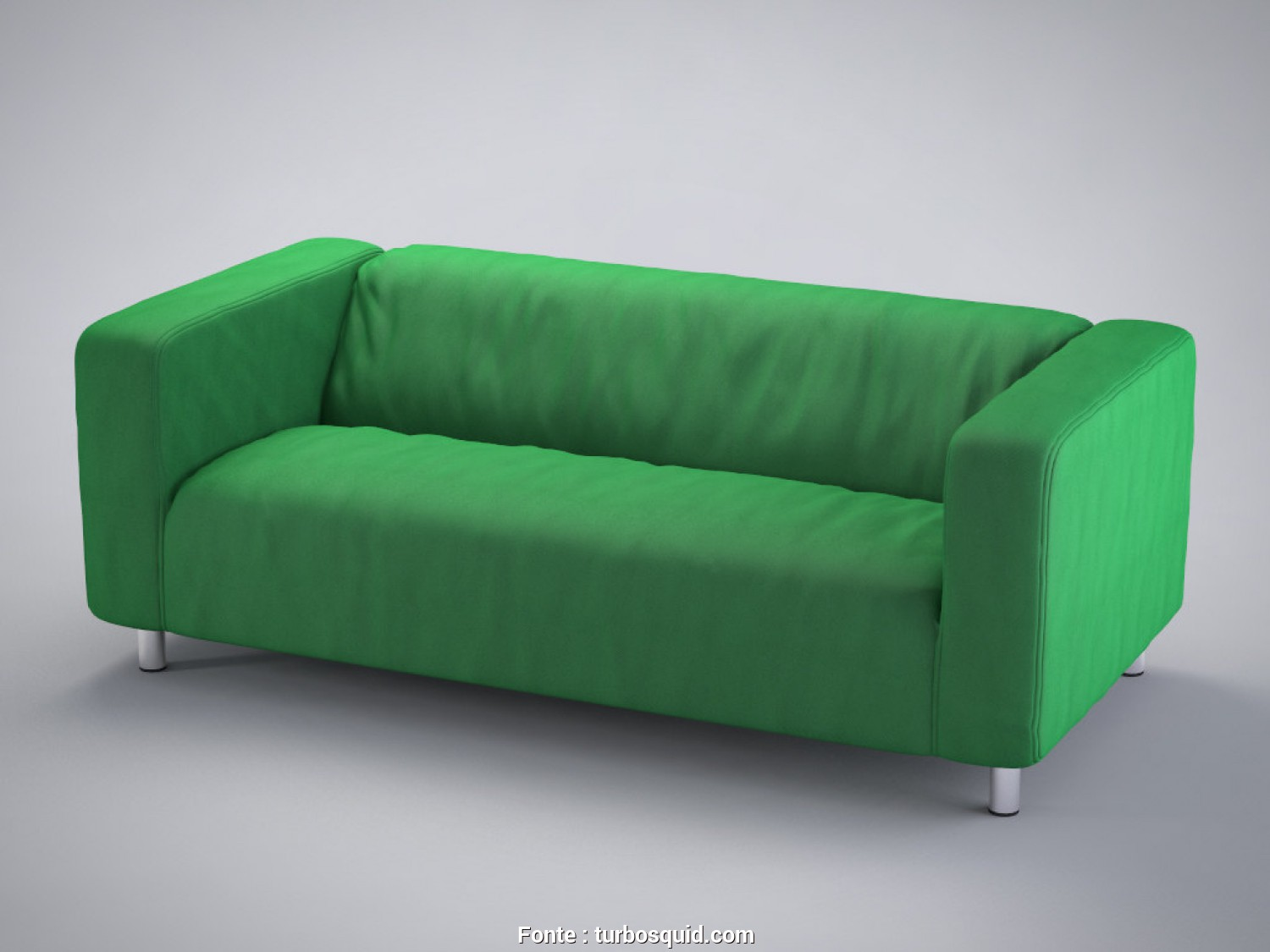 Klippan Ikea.De, Incredibile 3D Model Loveseat Klippan Ikea