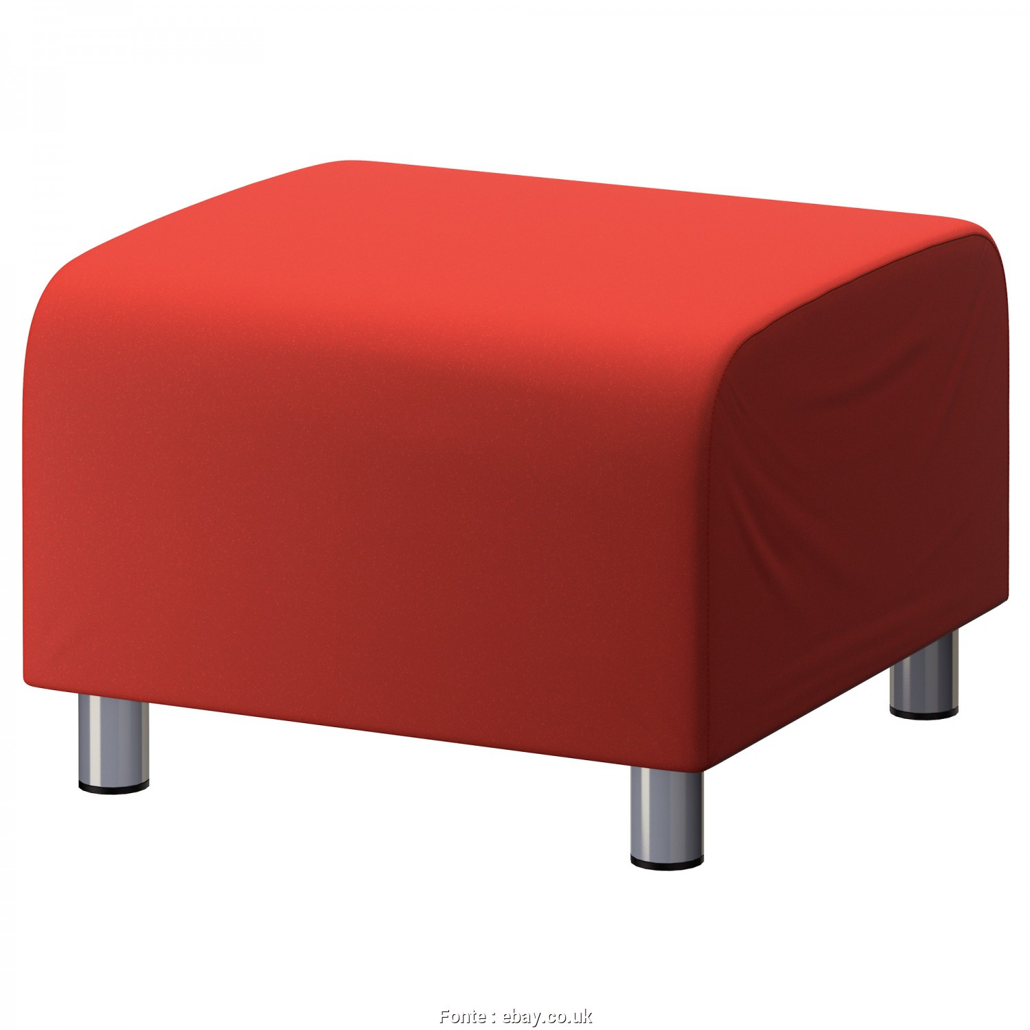 Klippan Ikea, Affascinante Details About, Cotton Custom Slip Cover, Ikea Klippan Footstool Sofa Cover Foot Stool