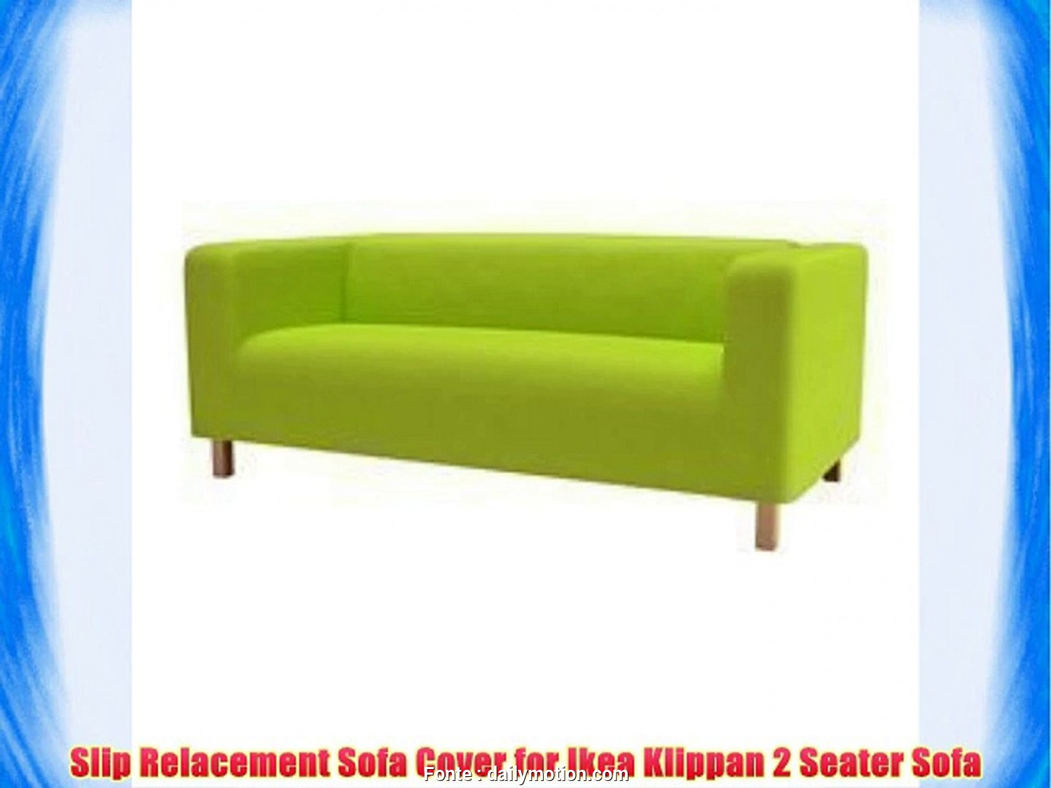 Klippan Ikea Instructions, Casuale Sofa Slip Replacement Cover, Ikea Klippan 2 Seater Sofa In Lime Green With Velcro Secure, Video Dailymotion
