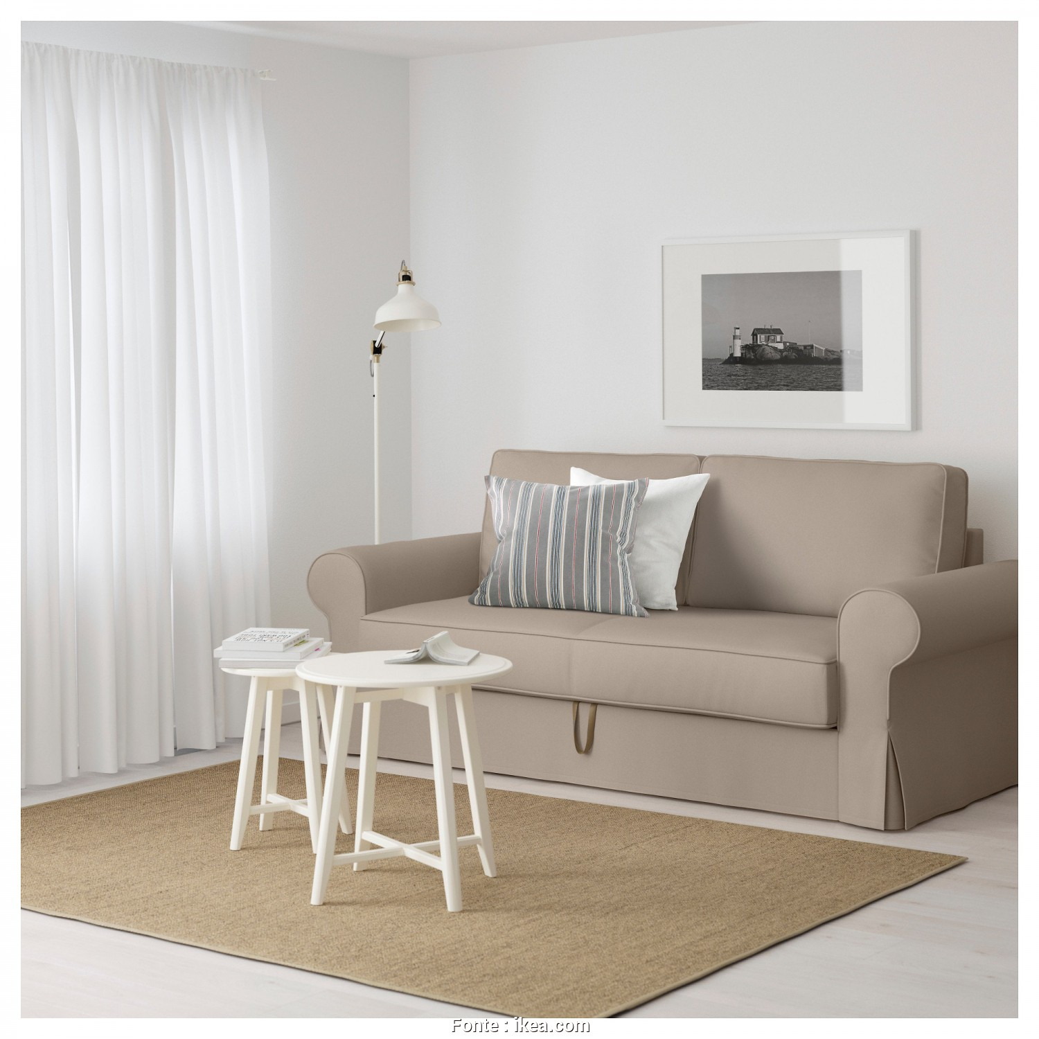 Laver Housse Canapé Ikea Backabro, Bellissima BACKABRO Convertible 3 Places Tygelsjö Beige