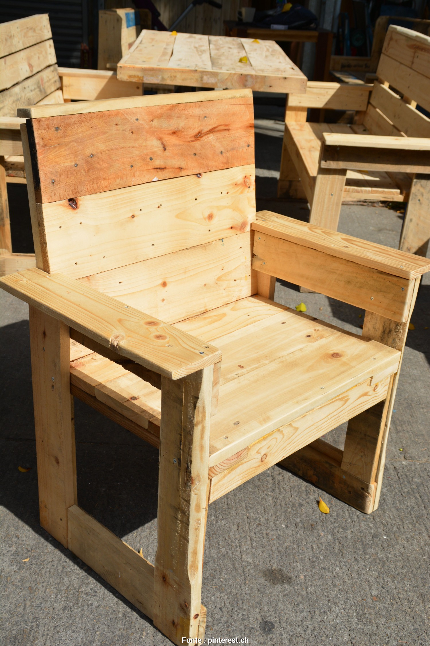 Poltrona De Pallet Pinterest, Eccezionale Pallet Chair, Wood Pallet Furniture, Dining Furniture, Garden Furniture,, Furniture
