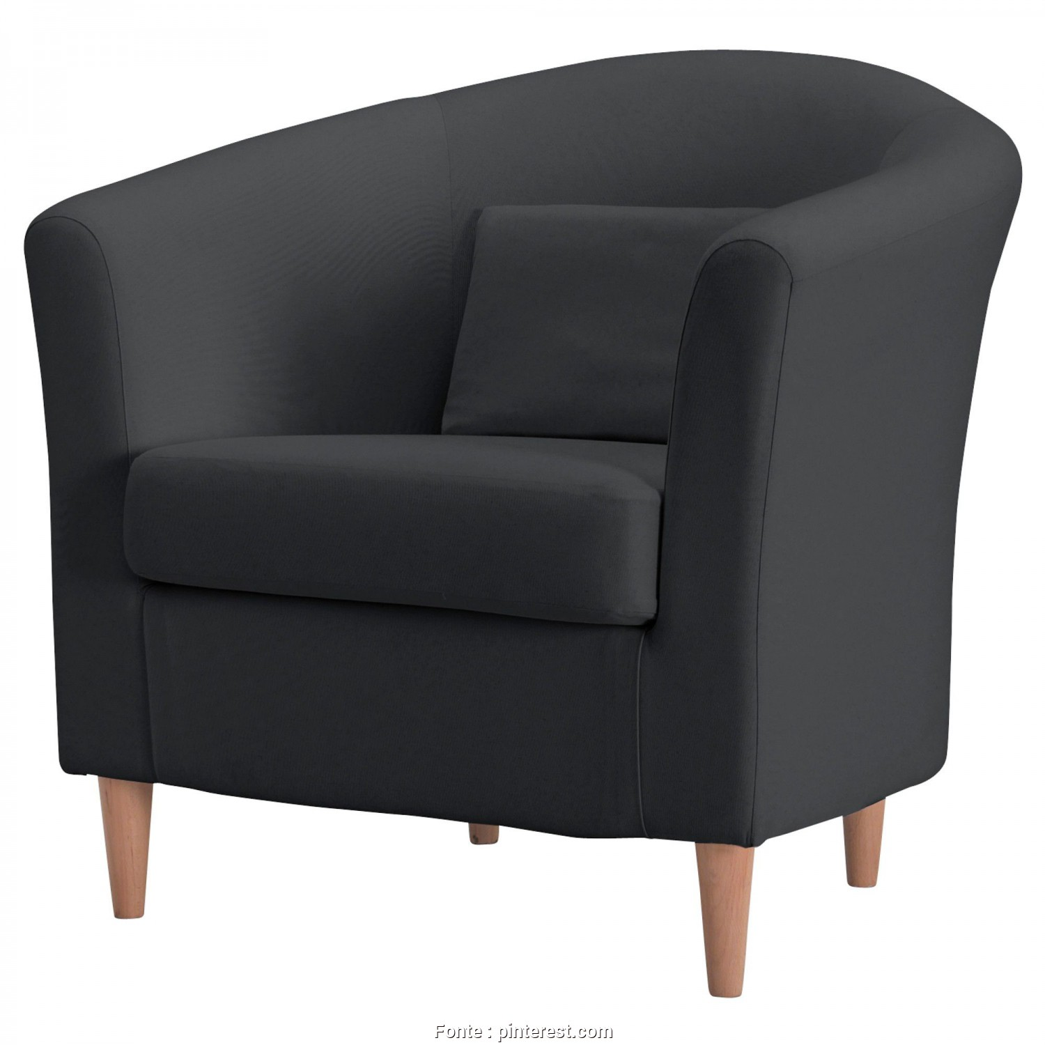 Poltrona Ikea Tullsta, Elegante TULLSTA Chair, Ransta Dark Gray, IKEA $99- Another Option, Probably Easier, Little, To, It,, Naturally, My Ikea Doesn