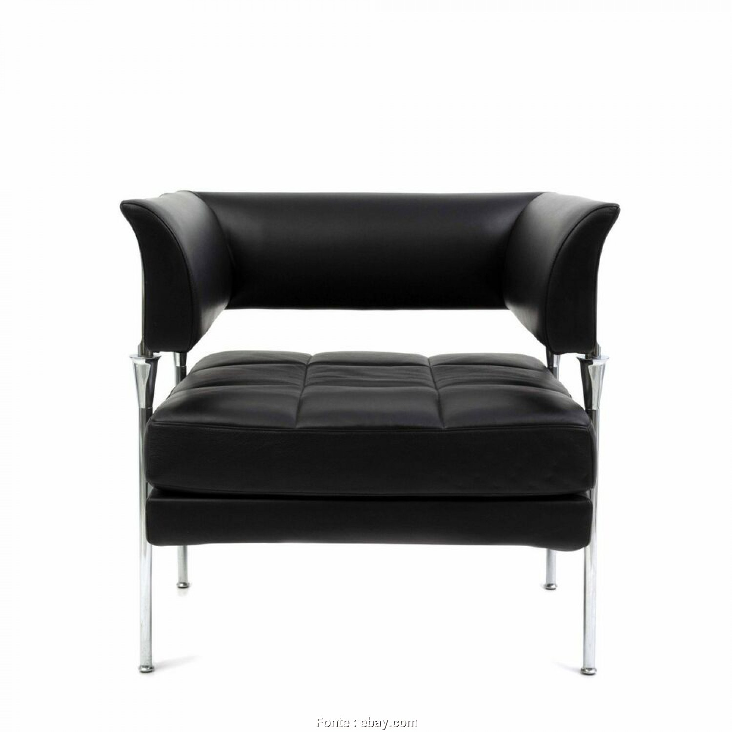 Poltrone Vintage Ebay, Loveable Details About POLTRONA FRAU HYDRA CASTOR LEATHER CHAIR BY LUCA SCACCHETTI (3 AVAILABLE)