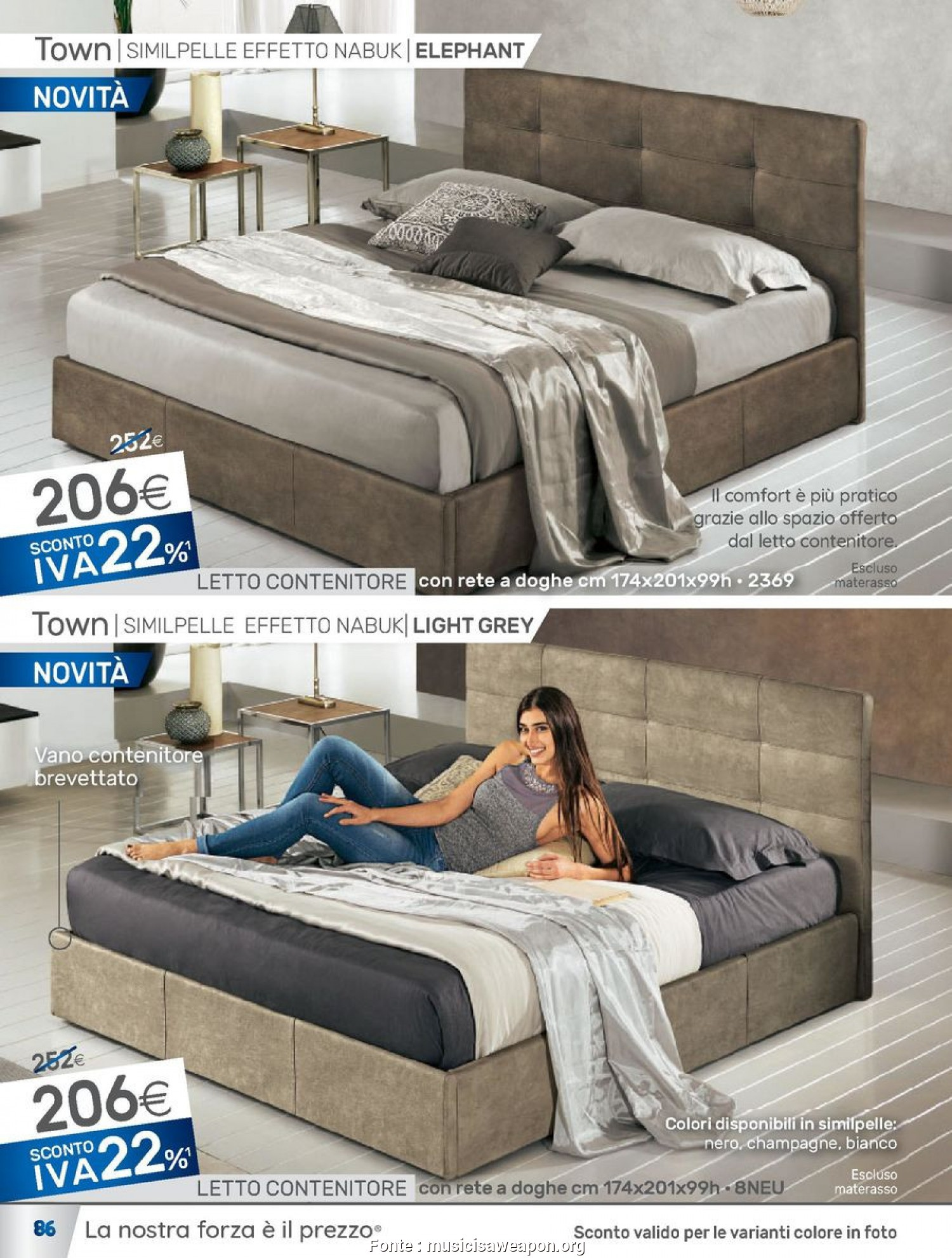 Costoso 5 Reti, Letto Singolo Mondo Convenienza - Keever For ...