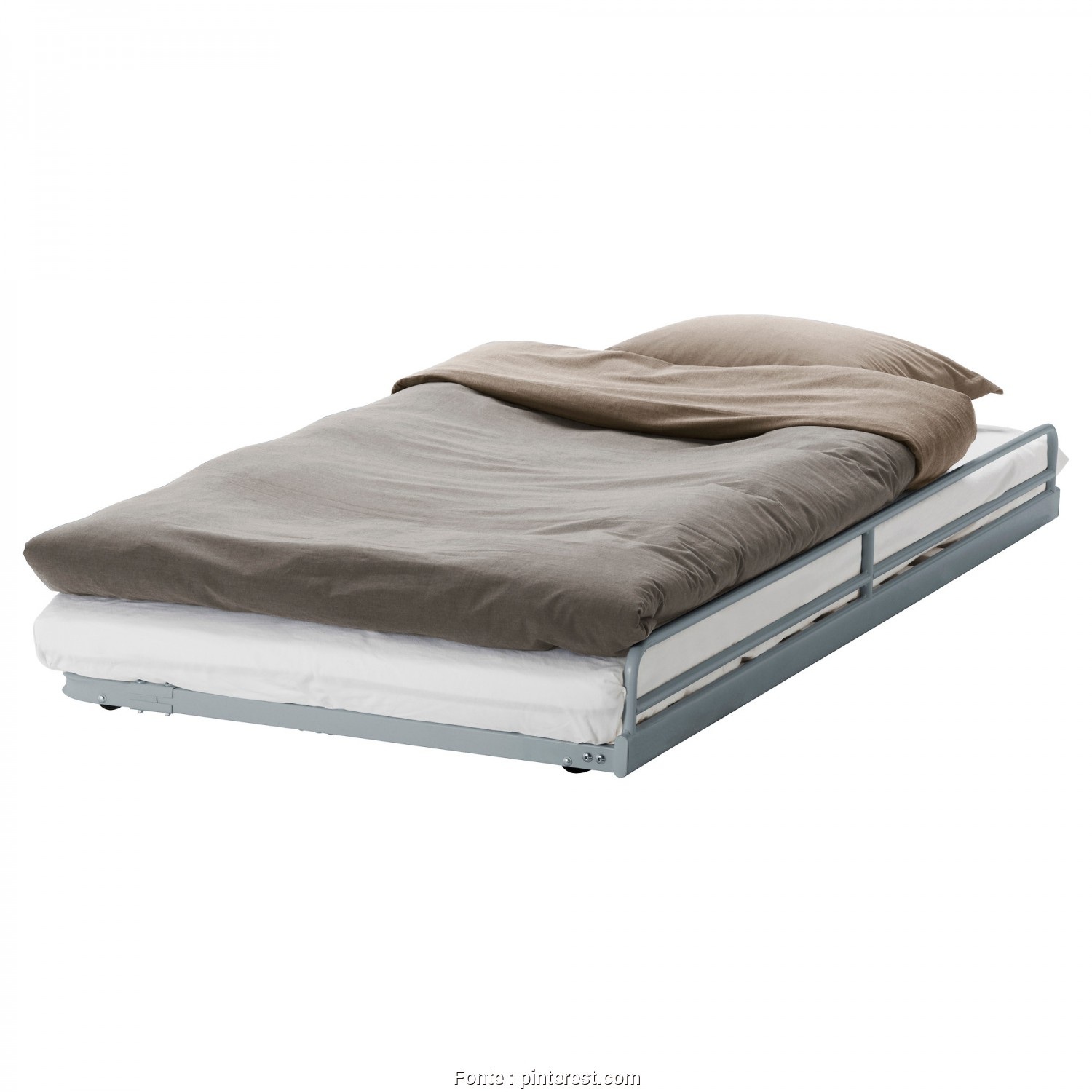 Roll Up Futon Mattress Ikea, Favoloso SVÄRTA Pull-Out Bed, Silver Color,, House