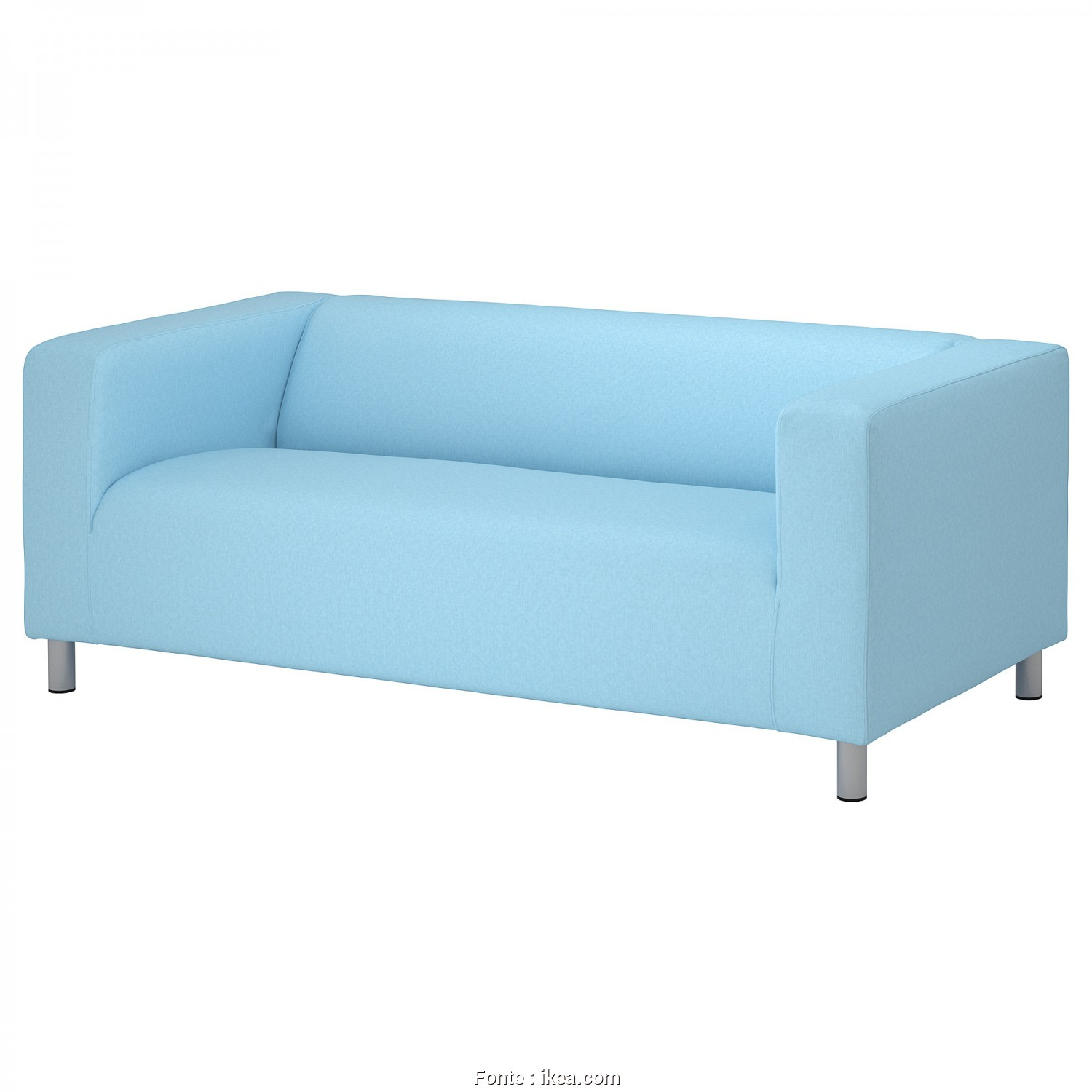 Sofa Klippan Ikea Funda, Incredibile KLIPPAN Cover, 2-Seat Sofa Vissle Light Blue