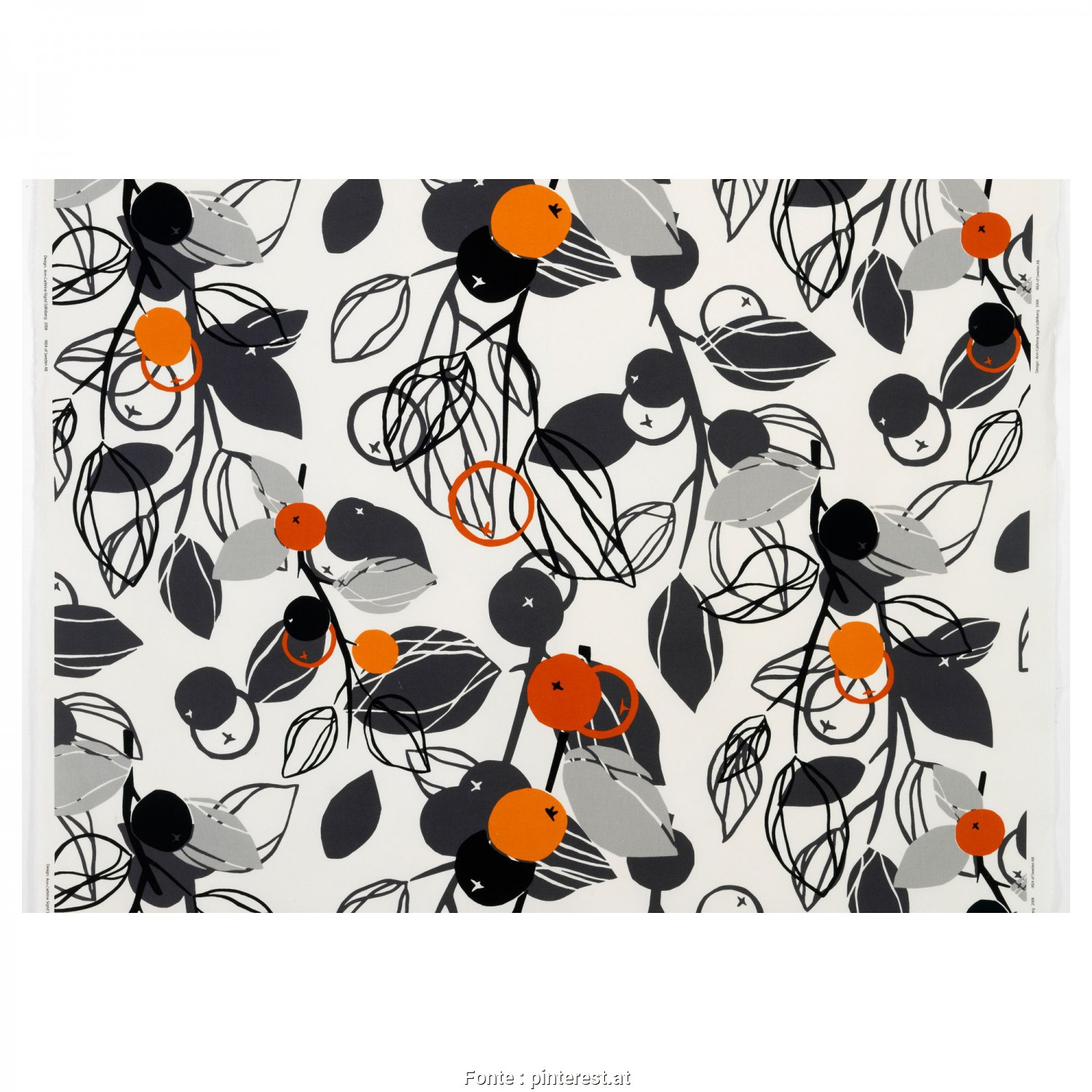 Stoffe Ikea, Fantasia MAJKEN Fabric, IKEA, |ORANGE| Furniture+Decor, Pinterest, Ikea