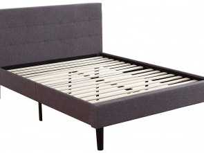 Amazon Copricuscini Divano Genius, Favoloso Amazon.Com: Divano Roma Furniture Deluxe Tufted Platform, Frame W/Wooden Slats: Kitchen & Dining