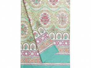 Amazon Telo Copridivano, Fantasia Bassetti Granfoulard Telo Arredo Mursia 2 Verde, 270X270, Amazon.Co.Uk: Kitchen & Home