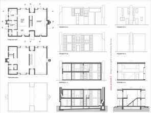 Arch, Cucina Dwg, Ideale Esherick House, Drawings
