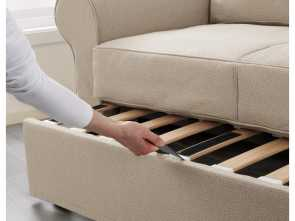 Backabro Ikea Test, Completare BACKABRO Two-Seat Sofa-Bed Hylte Beige
