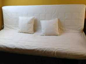 Beddinge Ikea Mattress, Superiore IKEA Beddinge Futon Style 3 Seater Sofa, With Lovas Comfort Mattress, Cream Cover