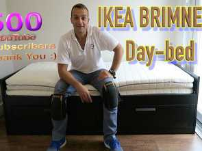 brimnes letto video IKEA BRIMNES extendable, bed frame with 2 drawers assembly, YouTube Stupefacente 5 Brimnes Letto Video