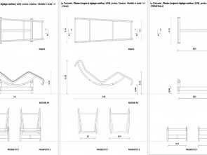 Semplice 6 Chaise Longue Design Dwg