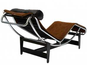 Chaise Longue Le Corbusier Dwg, Costoso Le Corbusier, Chaise Lounge Chair In Cowhide, Sale