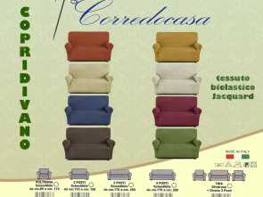 Copridivano Color Oro, Esclusivo Copridivano 2 Seater Fabric Elastic Color Of Your Choice