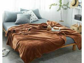 Copridivano Country, Classy Warm Brown Flannel Blanket, Mantas Soft Throw Fleece Winter Blanket, Children Adult Bedspread Sofa, Covers Quilts Gray, White Throw Blanket
