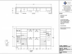 cucina self service dwg Well designed wall closet using Autocad program. Accurate detailed measurements included. Designed by Malka of RC Cabinets & Closets, Sonoma Casuale 4 Cucina Self Service Dwg
