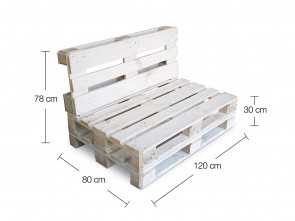 divanetto pallet richiudibile clc ARREDO Divanetto Pallet richiudibile Made in Italy, Colore Bianco: Amazon.it: Casa e cucina Stupefacente 5 Divanetto Pallet Richiudibile