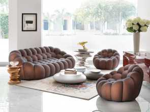 divani bubble roche bobois Roche Bobois,, Delhi, India, Bubble sofa showroom display Affascinante 5 Divani Bubble Roche Bobois