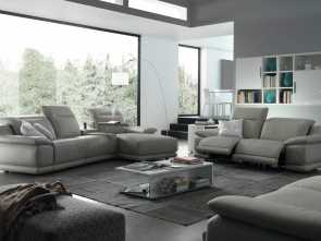 Divani Chateau D'Ax Festival, Modesto Indianapolis Sectional Sofa With Recliners, Chateau D'Ax