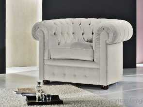 Divani Chester Santambrogio, Bello Chesterfield Armchair / Leather, POLTRONA CHESTER CLASSIC