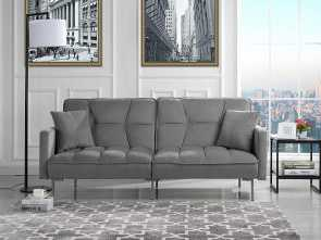 divano au yemen Amazon.com: Modern Plush Tufted Velvet Splitback Living Room Futon (Light Grey): Kitchen & Dining Bello 5 Divano Au Yemen