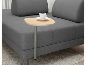 Divano Bordeaux Ikea, Elegante IKEA, FLOTTEBO Sleeper Sofa With Side Table Lysed Dark Gray
