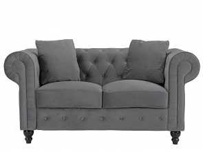Divano Chesterfield Ebay, Semplice Details About Divano Roma Furniture Classic Modern Scroll, Velvet Chesterfield Love Seat