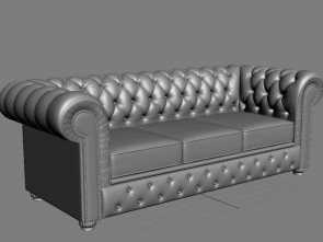 divano chesterfield modello 3d Divano Chesterfield royalty-free 3d model, Preview, 7 Bellissimo 5 Divano Chesterfield Modello 3D