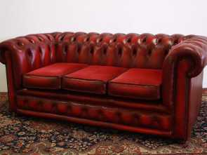 Superiore 4 Divano Chesterfield Replica