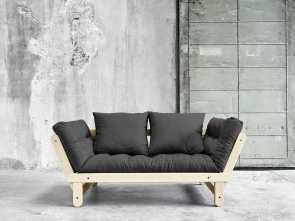 Divano Futon Beat, Migliore With, Slanted Side Arms, Boldly Colored Futon Pads,, Beat Sofa Adds A Touch Of Drama, Whimsy To, Room In Which, Place It