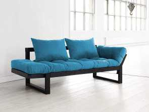 divano futon edge Amazon.com: Fresh Futon Edge Convertible Futon Sofa/Bed, Black Frame, Horizon Blue Mattress: Kitchen & Dining Esotico 6 Divano Futon Edge