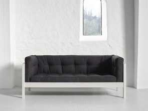 divano futon matrimoniale Divano Futon 2 posti FUSION Karup in legno bianco, LETTOGIAPPONESE.COM Locale 5 Divano Futon Matrimoniale