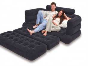 Divano Gonfiabile Sofa Bed, Esclusivo Intex Pull-Out Sofa Inflatable Bed,, X, X 28