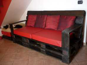 divano in pallets Divano in Pallets / Pallet Sofa, pallet n wood furniture, Möbel Modesto 6 Divano In Pallets