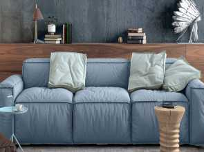 Divano In Salotto Piccolo, Ideale Modern Nordic Living Room Interior With Sofa, Lots Of Details