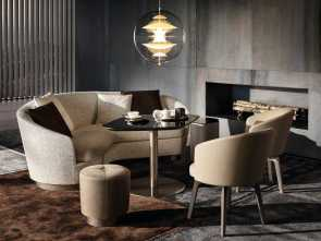 Divano Jacques Di Minotti, Completare Download, Catalogue, Request Prices Of Jacques, Curved Sofa By Minotti, Curved Sofa, Jacques Collection